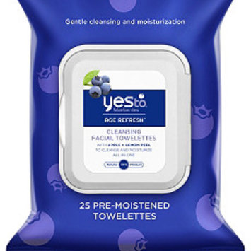 Photo of Yes To Blueberries Cleansing Facial Wipes uploaded by Tammy H.
