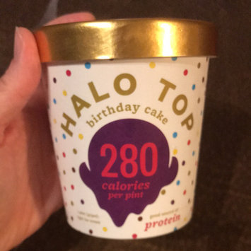Photo of Halo Top Birthday Cake Ice Cream uploaded by Megan W.
