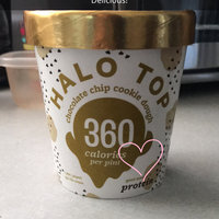Halo Top Chocolate Chip Cookie Dough Ice Cream uploaded by Michele M.