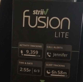 Photo of Striiv - Fusion Lite Activity Tracker - Black/gray uploaded by Emily D.