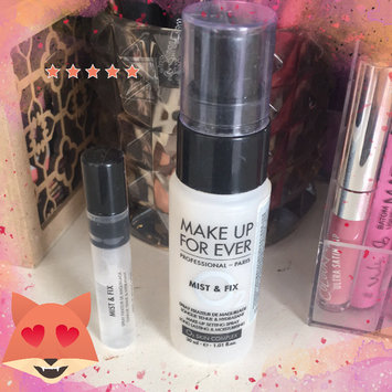 MAKE UP FOR EVER Mist & Fix Setting Spray uploaded by JULIANNA C.