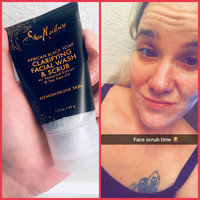 SheaMoisture African Black Soap Problem Skin Facial Wash & Scrub uploaded by Tiffany M.