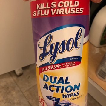 Photo of Lysol Dual Action Disinfecting Wipes uploaded by Pilar G.