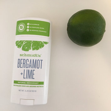 Schmidt's Bergamot + Lime Natural Deodorant uploaded by Nicolle M.