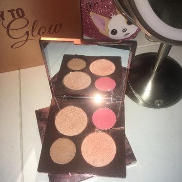 Photo of BECCA x Chrissy Teigen Glow Face Palette uploaded by Katie D.