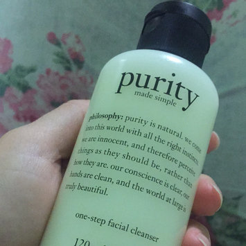 philosophy purity made simple one-step facial cleanser uploaded by Cassandra J.