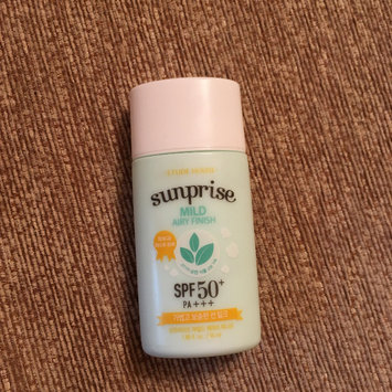 Photo of Etude House - Sunprise Mild Airy Finish SPF 50 PA+++ 55ml uploaded by Anna F.