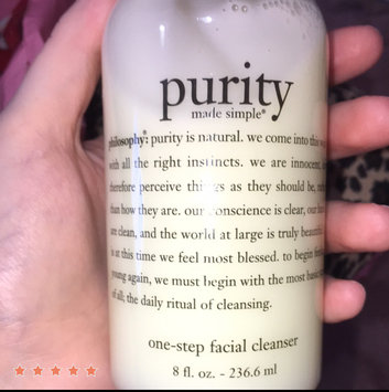 philosophy purity made simple one-step facial cleanser uploaded by Mara L.