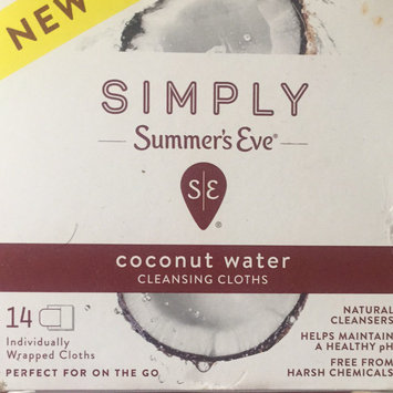 Simply Summer's Eve Coconut Water Feminine Wipe - 14ct, None - Dnu uploaded by Yailin L.