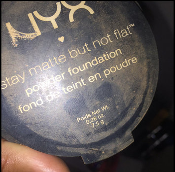 Photo of NYX Stay Matte But Not Flat Powder Foundation uploaded by Portia S.