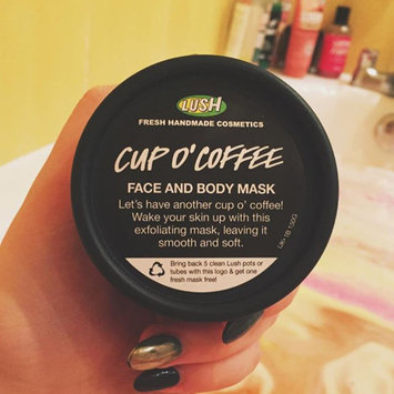 LUSH Cup O' Coffee Face and Body Mask uploaded by Sophie R.