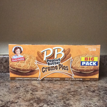 Little Debbie Peanut Butter Creme Pie 18.39oz uploaded by Miranda F.