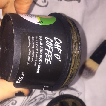 LUSH Cup O' Coffee Face and Body Mask uploaded by Bethh G.