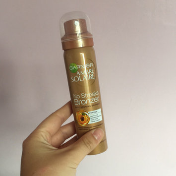 Photo of Garnier Ambre Solaire No Streaks Bronzer Self-Tanning Dry Face Mist uploaded by Kate S.