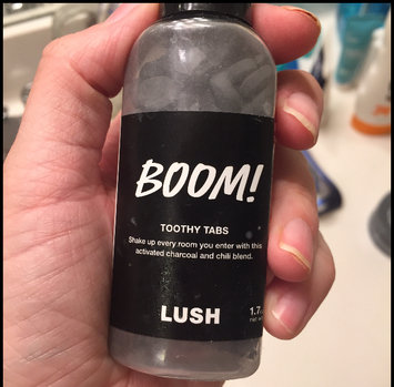 Photo of LUSH Boom! Toothy Tabs uploaded by Katherine V.