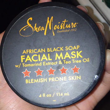 SheaMoisture African Black Soap Clarifying Facial Wipes uploaded by Sarah H.