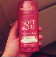Soft & Dri Aluminum Free Deodorant Solid Powder Fresh - 2.3 oz. uploaded by Kayla J.