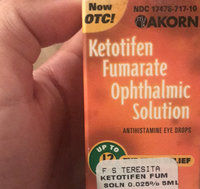 Zaditor Eye Drops Zaditor Ketotifen Fumarate Ophthalmic Solution For Eye Itch Relief uploaded by Nina G.