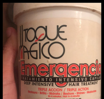 Photo of Toque Magico Emergencia - Deep intensive hair treatment 16oz uploaded by Nina G.