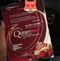 QUEST NUTRITION Strawberry Cheesecake Protein Bar uploaded by Dilenia R.