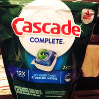 Cascade® Complete® Dawn® Fresh Scent Action Pacs™ Dishwasher Detergent 23 ct Pouch uploaded by Missy E.
