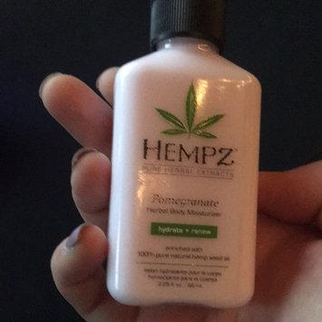 Hempz Pomegranate Herbal Moisturizer uploaded by Abby M.