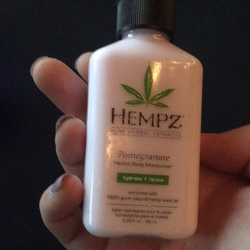 Photo of Hempz Pomegranate Herbal Moisturizer uploaded by Abby M.