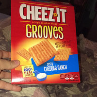 Cheez-It Grooves Zesty Cheddar Ranch Crackers 9 oz uploaded by Maddie Grace P.