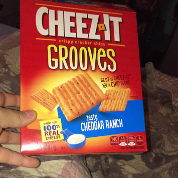 Photo of Cheez-It Grooves™ Zesty Cheddar Ranch uploaded by Maddie Grace P.