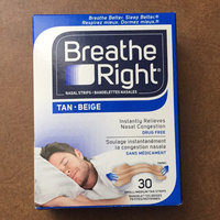 Breathe Right Nasal Strips, Small/Medium, Tan, Drug Free uploaded by Megan M.
