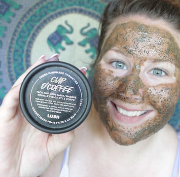 LUSH Cup O' Coffee Face and Body Mask uploaded by Ashleigh H.