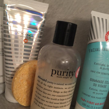 philosophy purity made simple one-step facial cleanser uploaded by Jacqueline S.