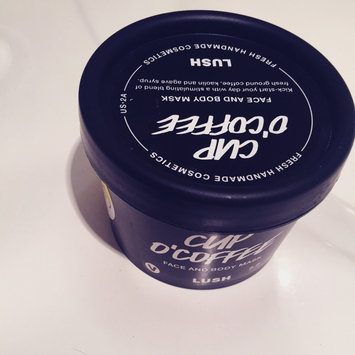 LUSH Cup O' Coffee Face and Body Mask uploaded by Maria O.