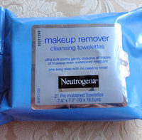 Neutrogena® Makeup Remover Cleansing Towelettes uploaded by Priscii C.
