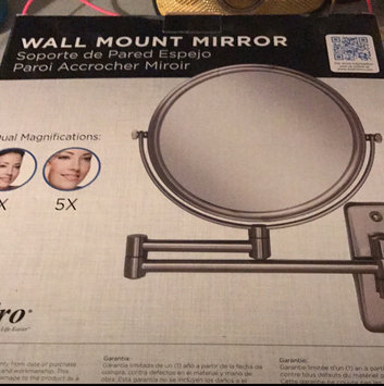 Zadro - Dual-Sided 5X Wall Mirror OVW45 Satin Nickel uploaded by Agripina H.