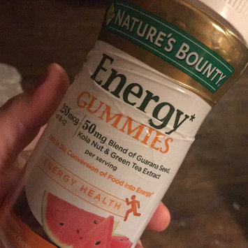 Photo of Nature's Bounty® Energy Gummies uploaded by April C.