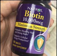 Natrol Biotin 10,000mcg Tablets - 100 CT uploaded by Julia V.