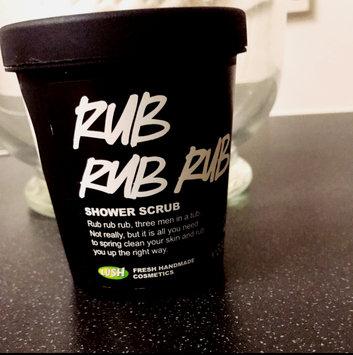 LUSH Rub Rub Rub Shower Scrub uploaded by Marissa N.