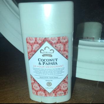 Photo of Nubian Heritage Coconut & Papaya 24 Hour All Natural Deodorant uploaded by Alyssa B.