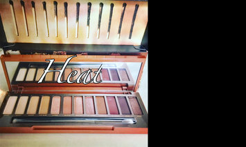 Urban Decay Naked Heat Eyeshadow Palette uploaded by Kara P.