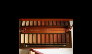 Urban Decay Naked Heat Eyeshadow Palette uploaded by Dazy G.
