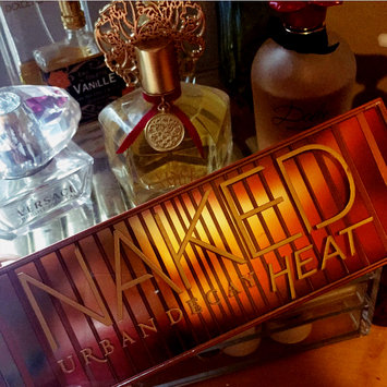 Urban Decay Naked Heat Eyeshadow Palette uploaded by Heather F.