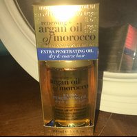 OGX Extra Penetrating Oil for Dry & Coarse Hair Renewing Argan Oil of Morocco uploaded by Alyssa B.