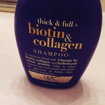 Photo of OGX® Biotin & Collagen Shampoo uploaded by Vane G.