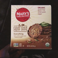 Marys Gone Crackers Mary's Gone Crackers, Original, 6.5-Ounce Boxes (Pack of 12) uploaded by Del T.