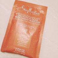 SheaMoisture Argan Oil & Almond Milk Hair Masque Packettes - 2 oz uploaded by Vane G.