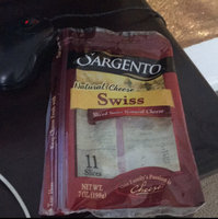 Sargento Natural Swiss Deli Style Sliced Cheese - 11 CT uploaded by Chiquita T.