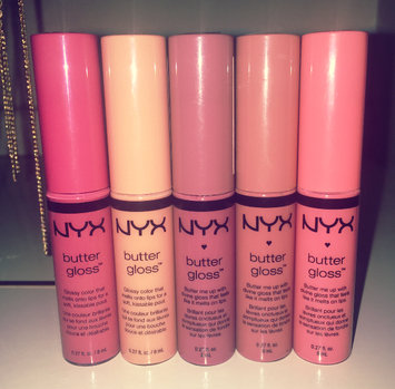 NYX Cosmetics Butter Gloss Collection uploaded by Katelyn T.