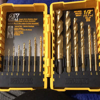 Dewalt DW1354 14-Piece Titanium Drill Bit Set uploaded by Mandy B.