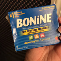 Bonine Chewable Tablets for Motion Sickness, Raspberry, 16 ea uploaded by Marissa L.